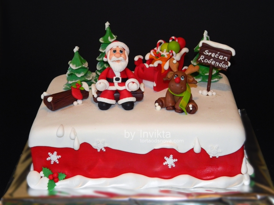 Outstanding 13 Separate Cakes Themed Birthday Photo Christmas Themed Personalised Birthday Cards Veneteletsinfo