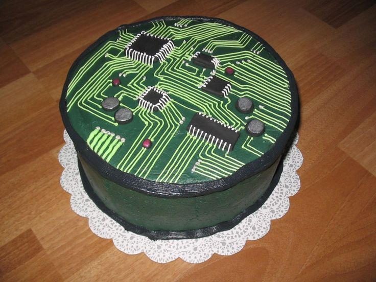 13 Computer Engineering Cakes Photo Computer Science Birthday Cake