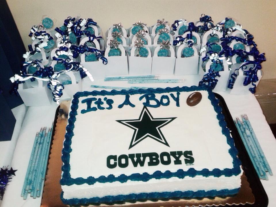 10 Dallas Cowboys Baby Shower Cakes Ideas Photo Dallas Cowboys