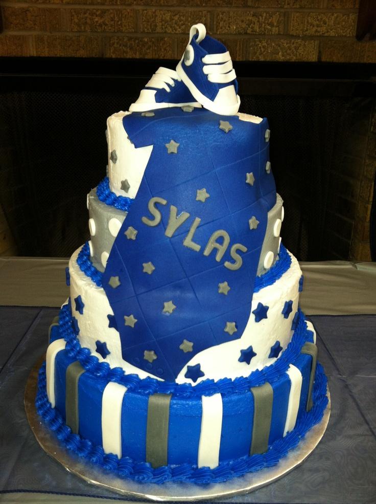 Dallas Cowboys Baby Shower Cake