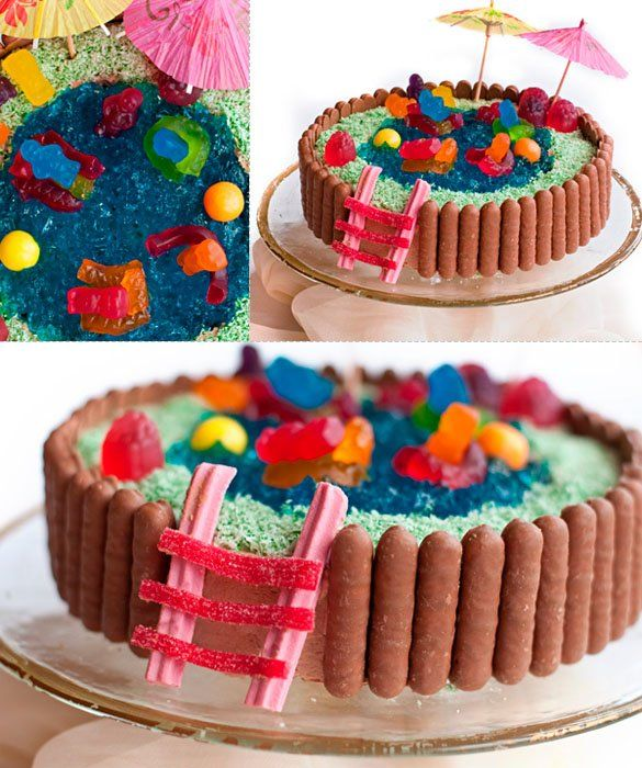 Miraculous 8 Easy Birthday Cakes For Women Photo Easy Girls Birthday Cakes Funny Birthday Cards Online Bapapcheapnameinfo