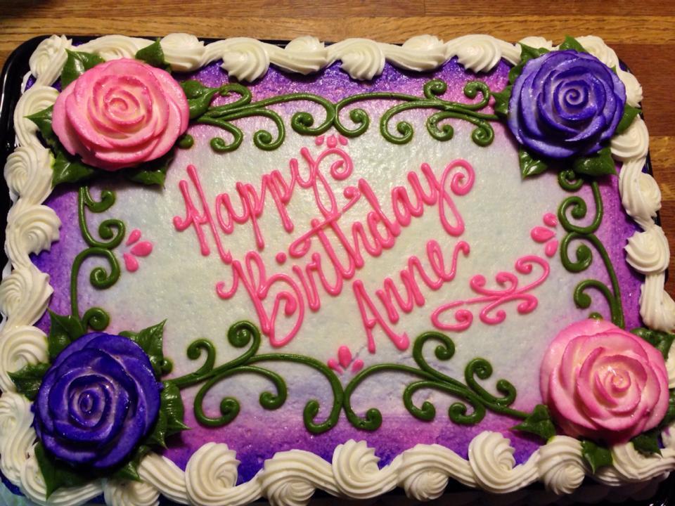 8 Happy Birthday Ann Cupcakes Photo Happy Birthday Anne Cake