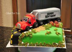 10 Truck Driver Happy Birthday Cakes Photo