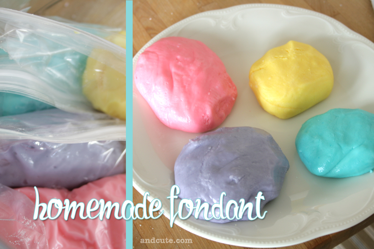 9 Easy Homemade Fondant For Cakes Photo