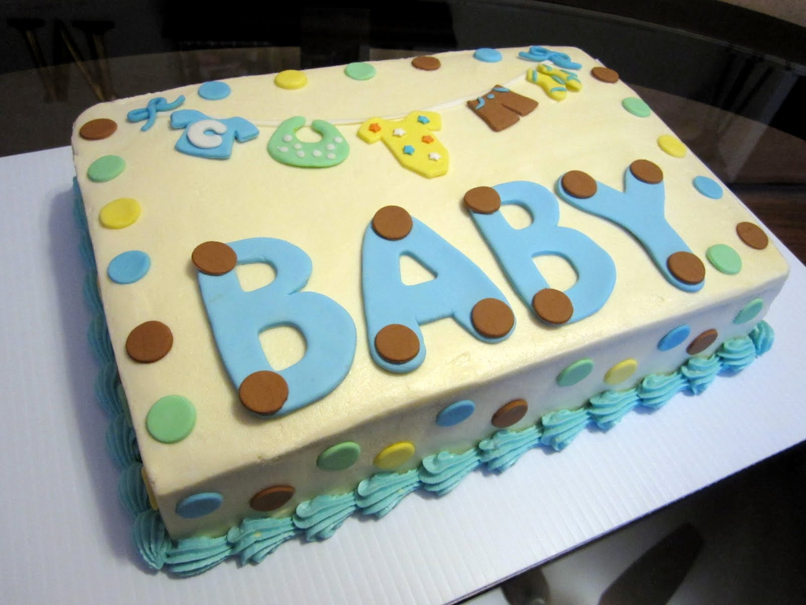 Kroger Baby Shower Cakes