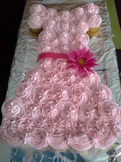 Little Girl Birthday Cupcake Cakes