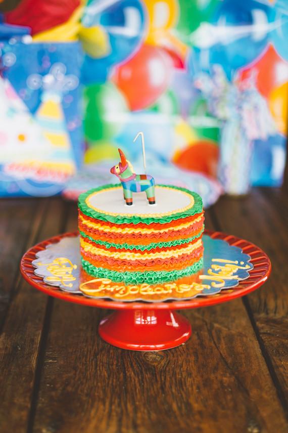 Mexican Fiesta Birthday Party Cake Ideas