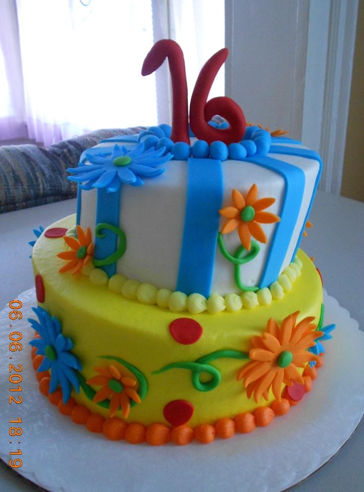Terrific 5 Cupcake Cakes For 16 Yr Old Photo Sweet 16 Birthday Cupcake Funny Birthday Cards Online Alyptdamsfinfo