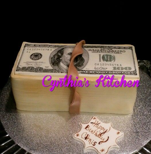 5 Money Themed Cakes Photo
