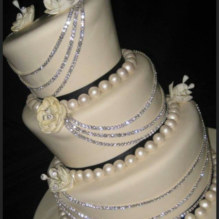 9 Diamond And White Cakes Photo Cupcake Wedding Cake Diamond