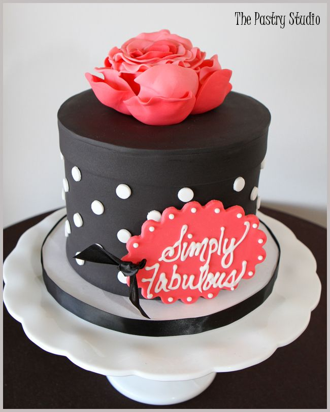 Superb 7 Cakes Red Black White Hat Photo Pink Black And White Gift Box Birthday Cards Printable Giouspongecafe Filternl