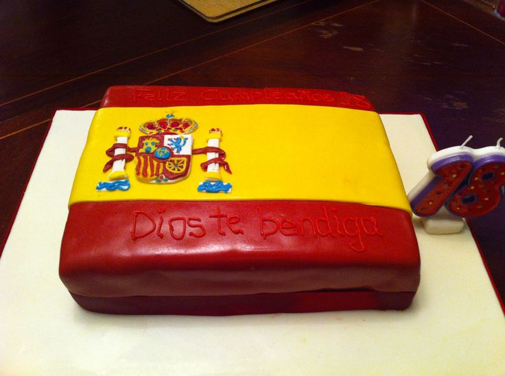 9 Spanish When Your 30 Birthday Cakes Photo Spanish Theme Wedding