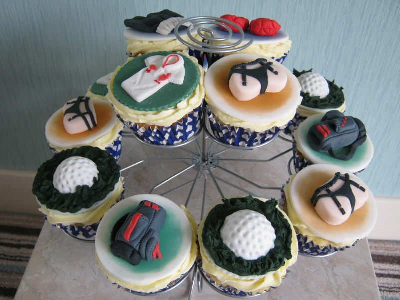 11 Cupcake Cakes For Teen Boy Photo Teenage Boy Birthday Cake
