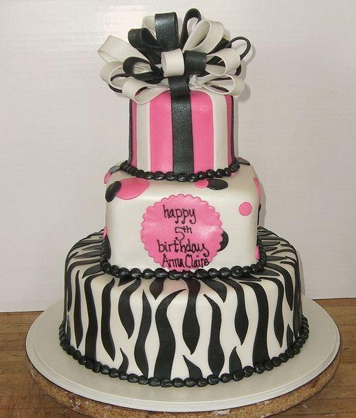 6 Happy Birthday 3 Layer Cakes Photo