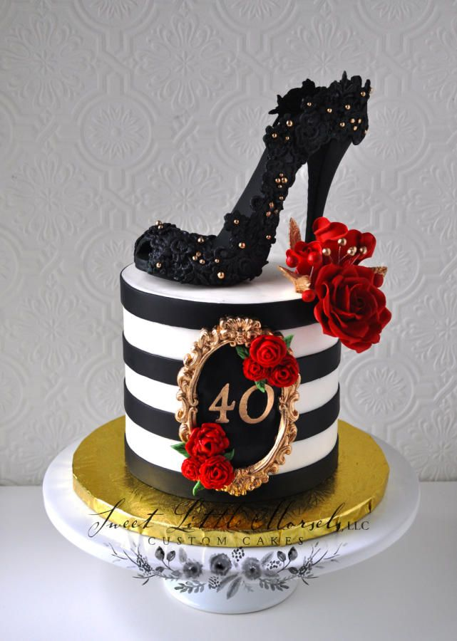 40th Birthday Cake Ideas