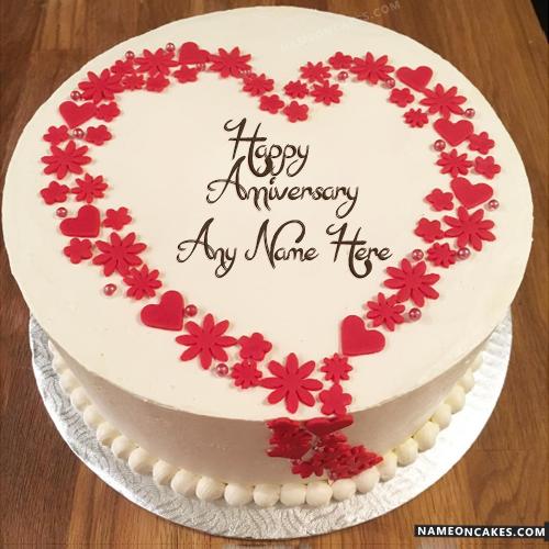 8 Amazing Wedding Anniversary Cakes Photo Happy Wedding