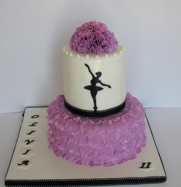 Magnificent 9 Dancer Birthday Cakes For Teen Girls Photo Ballet Dance Personalised Birthday Cards Cominlily Jamesorg
