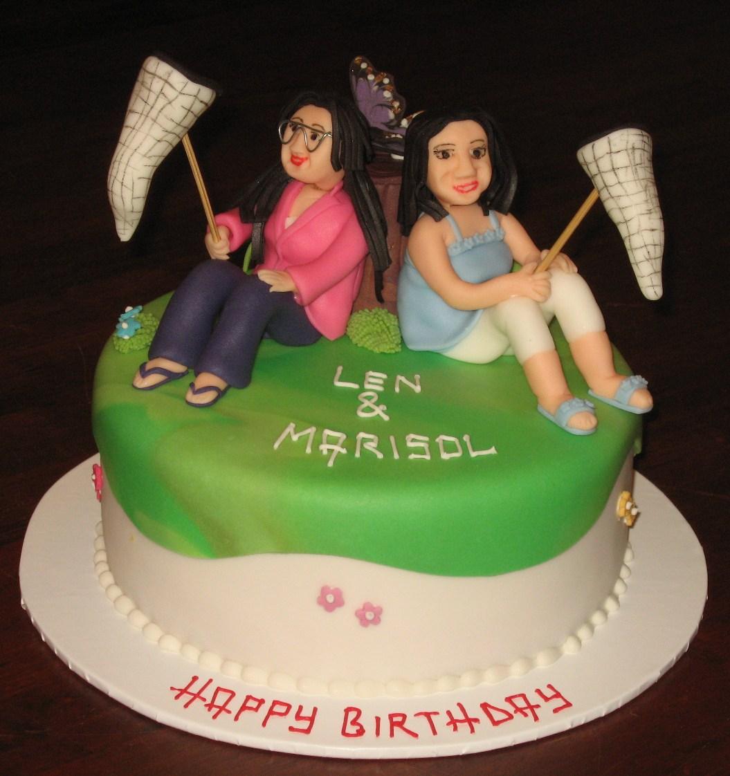 Best Friend Happy Birthday Cake