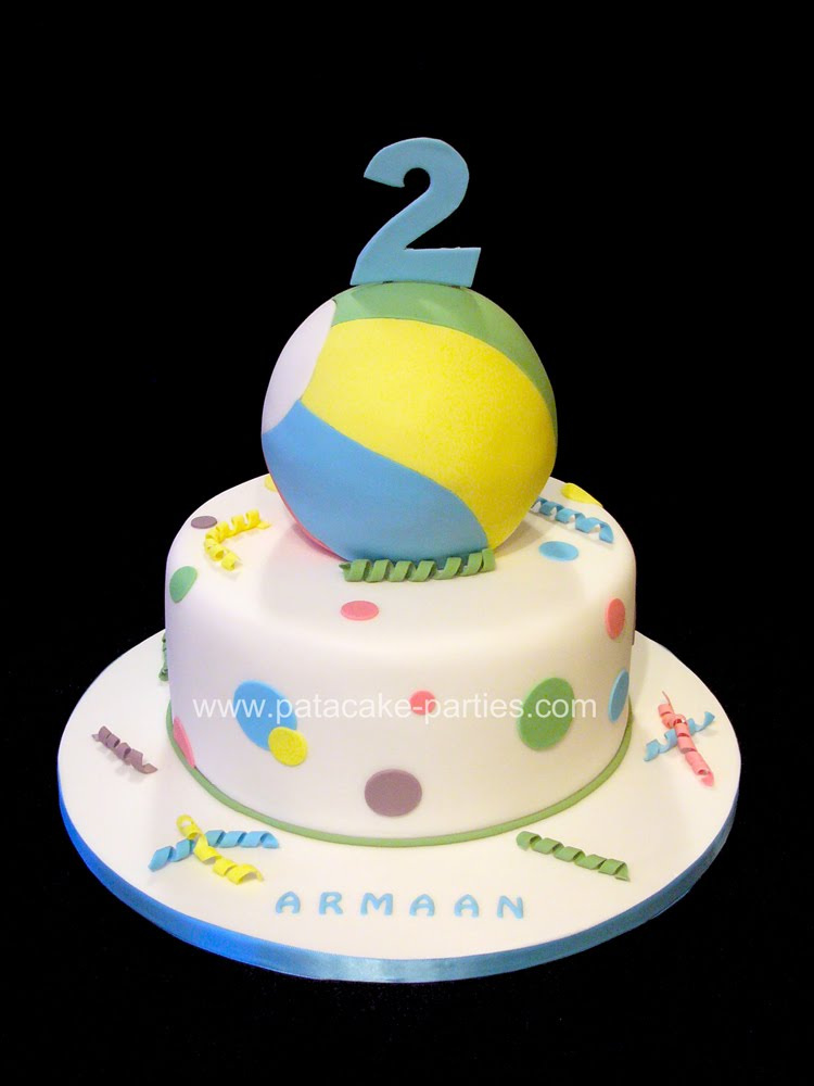 Surprising 9 Bouncing Ball Birthday Cakes Photo Bouncy Ball Birthday Cake Personalised Birthday Cards Veneteletsinfo