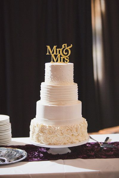 8 Icing Designs For Wedding Cakes Photo Buttercream Frosting