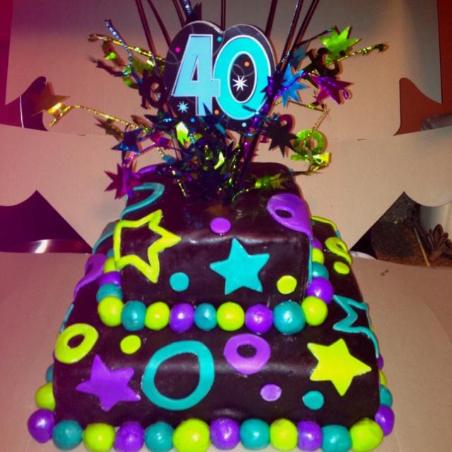 13 Happy 40th Birthday Cakes Photo