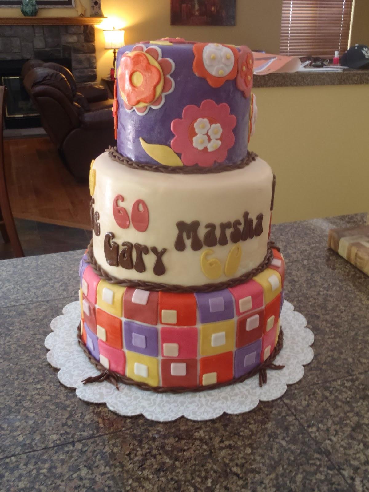 10 60s Themed Cakes Photo 60s Themed Birthday Cake Happy 16th