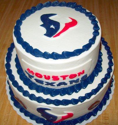 Houston Texans Happy Birthday Cake