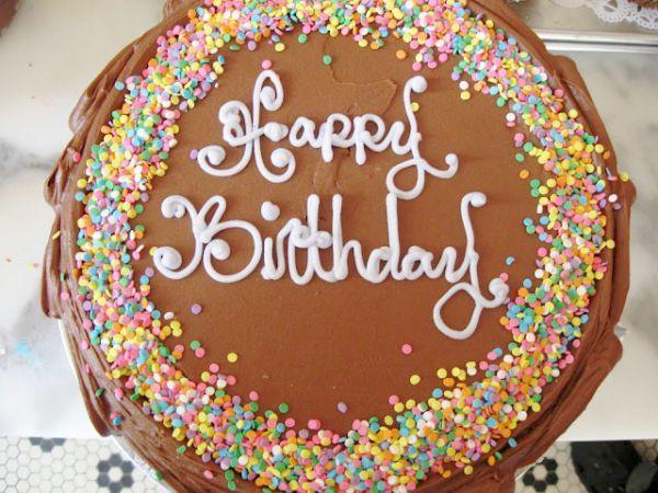 Magnolia Bakery Birthday Cake