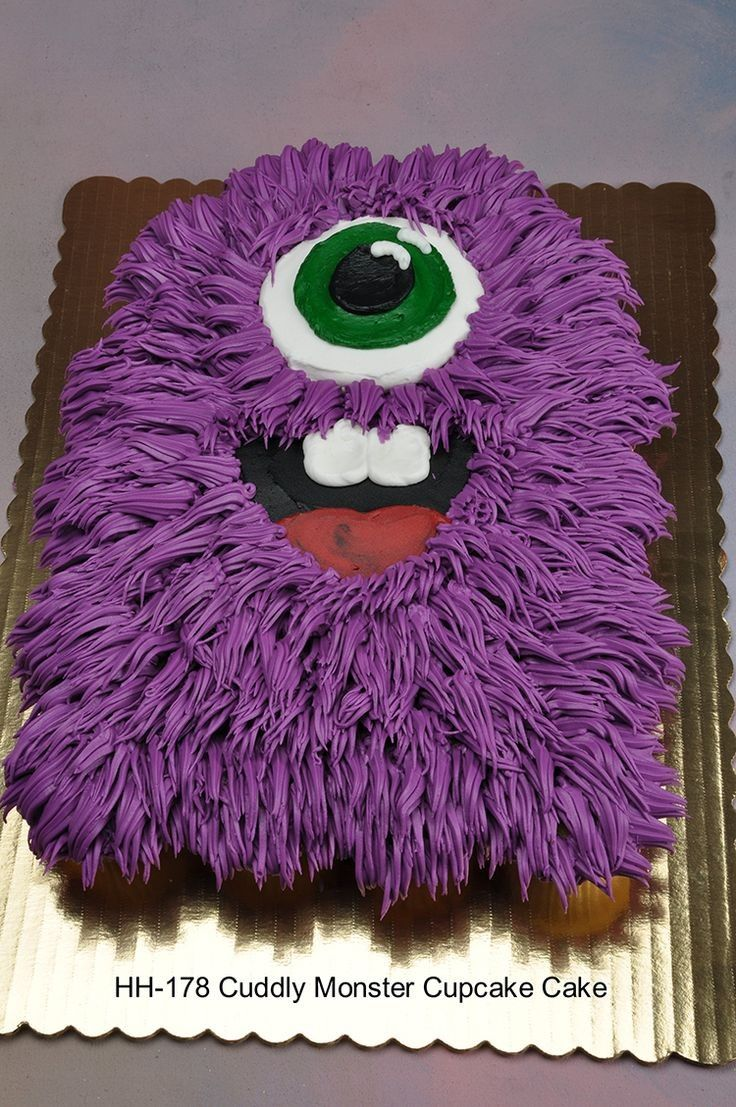 10 pull away cupcake cakes for halloween photo - pull apart