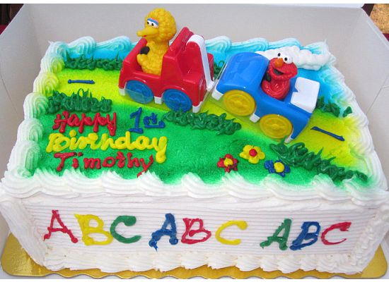 Birthday Cakes Source Sesame Street Stop And Shop Cake