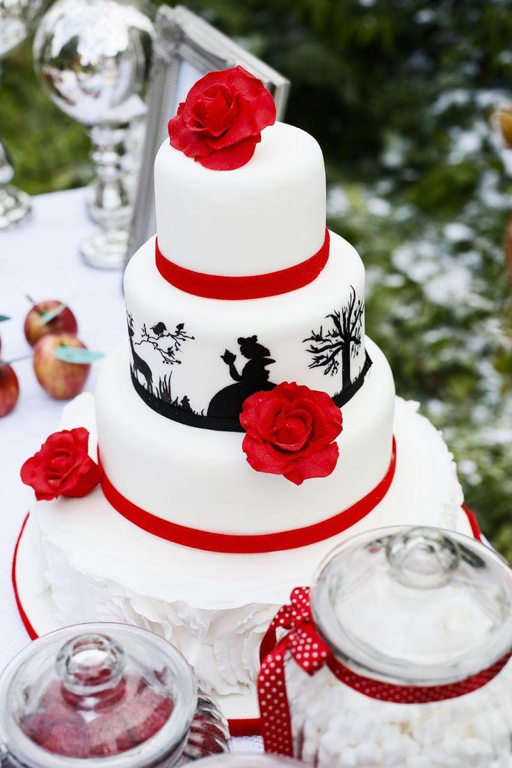 7 Snow White Theme Cakes Photo - Snow White Cake, Snow White Themed ...