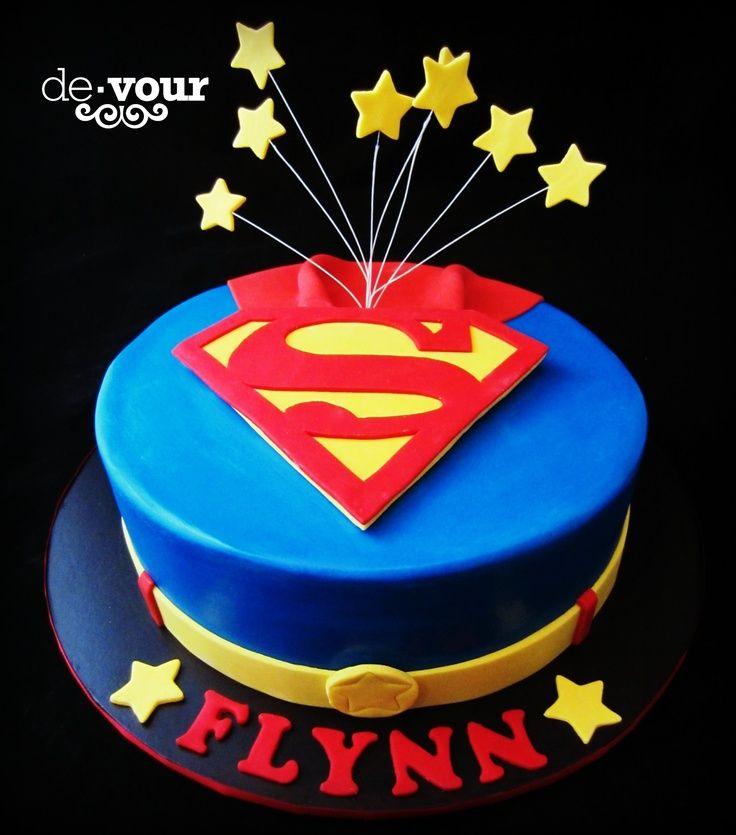 13 30th Birthday Cakes For Men Superman Photo Superman Cake Ideas