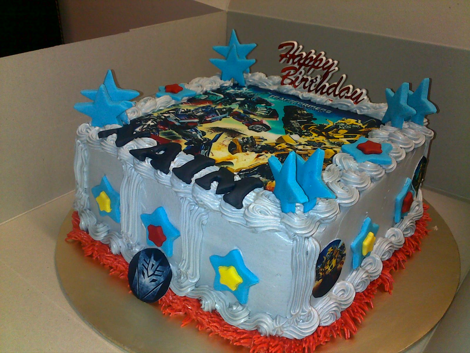 13 Easy Transformer Cupcake Cakes Photo