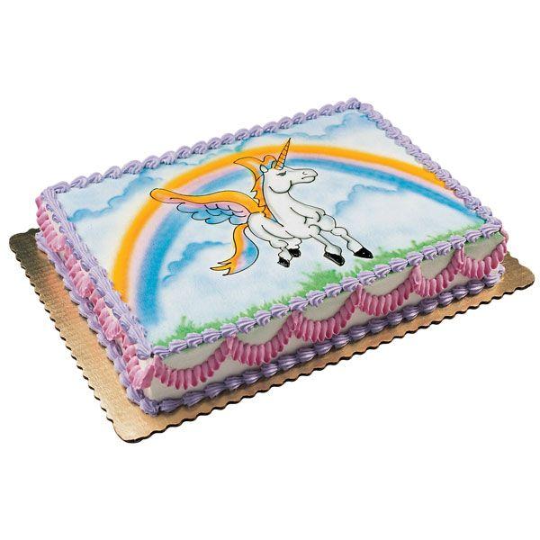 Unicorn Birthday Cake Publix Via My Little Pony
