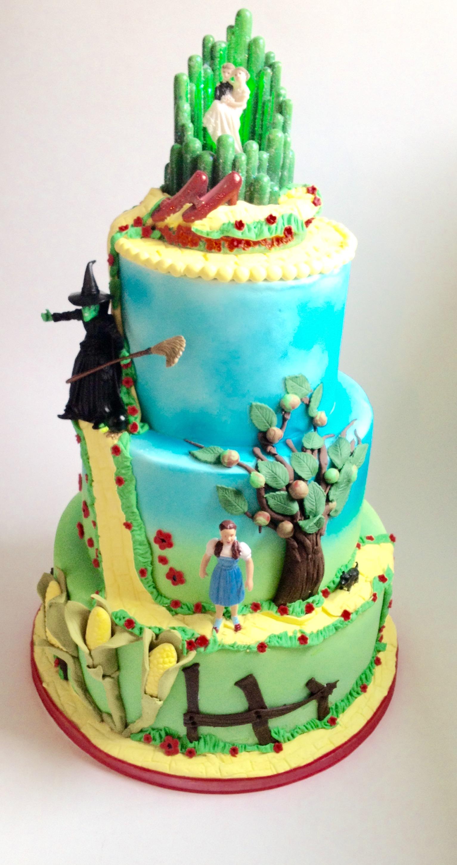 Astonishing 12 Wizzard Of Oz Themed Cakes Photo Wizard Of Oz Cake Idea Funny Birthday Cards Online Bapapcheapnameinfo
