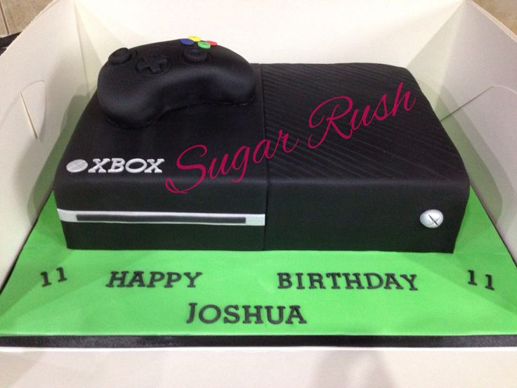 Xbox One Birthday Cake Ideas