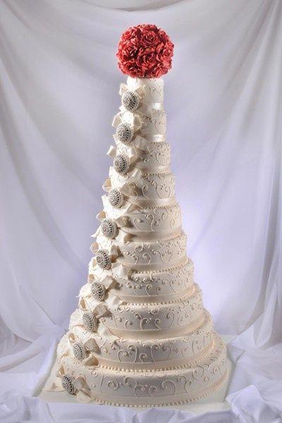 10 Layer Wedding Cake