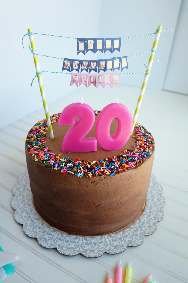 7 Funny 20th Birthday Cakes Boy Photo 20th Chocolate Birthday