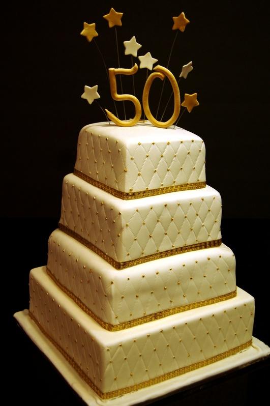 Amazing 13 50Th Bithday Cakes Photo 50Th Birthday Cake 50Th Birthday Birthday Cards Printable Nowaargucafe Filternl