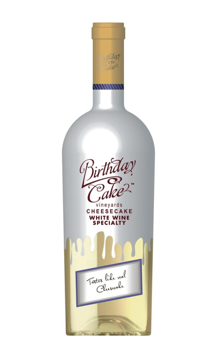 Birthday Cake Vineyards Cheesecake Wine