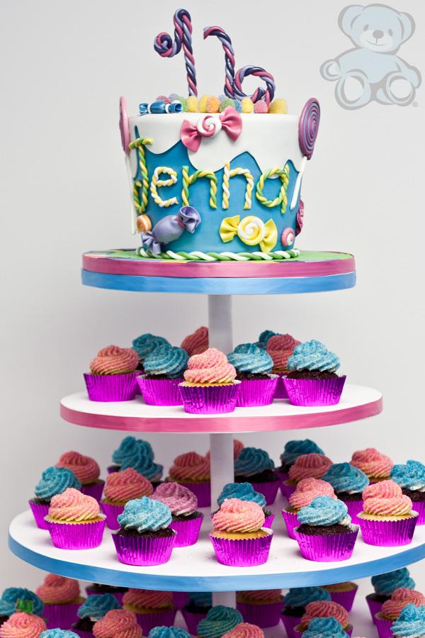 Sensational 8 Birthday Cakes Candyland Cake Photo Candyland Theme Cake Birthday Cards Printable Opercafe Filternl
