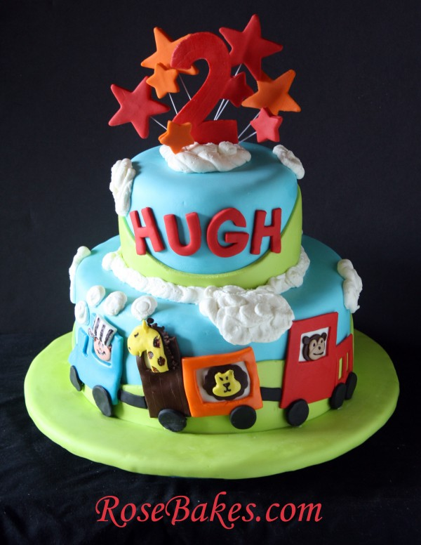 Surprising 7 Train Circus Cakes Ideas Photo Choo Choo Train Birthday Cake Personalised Birthday Cards Veneteletsinfo