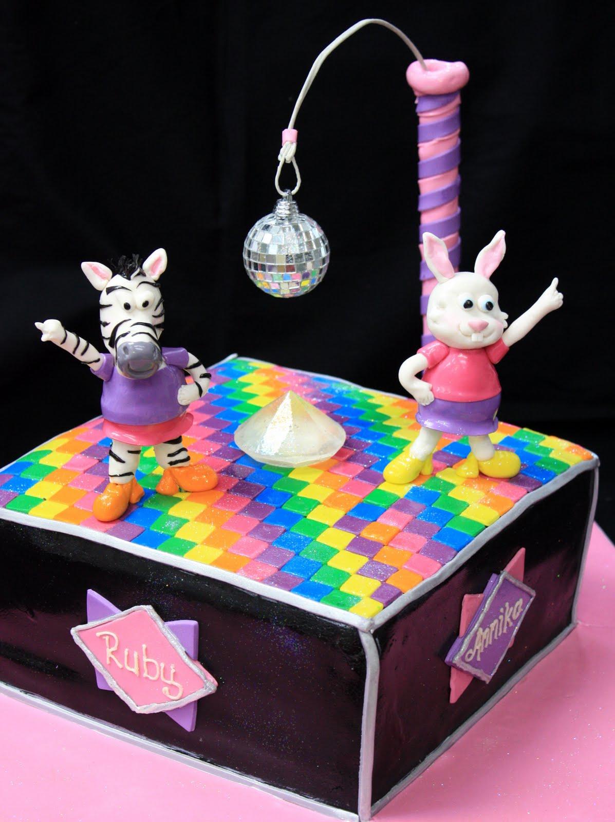 7 Disco Party Birthday Cakes Photo Disco Dance Party Birthday Cake