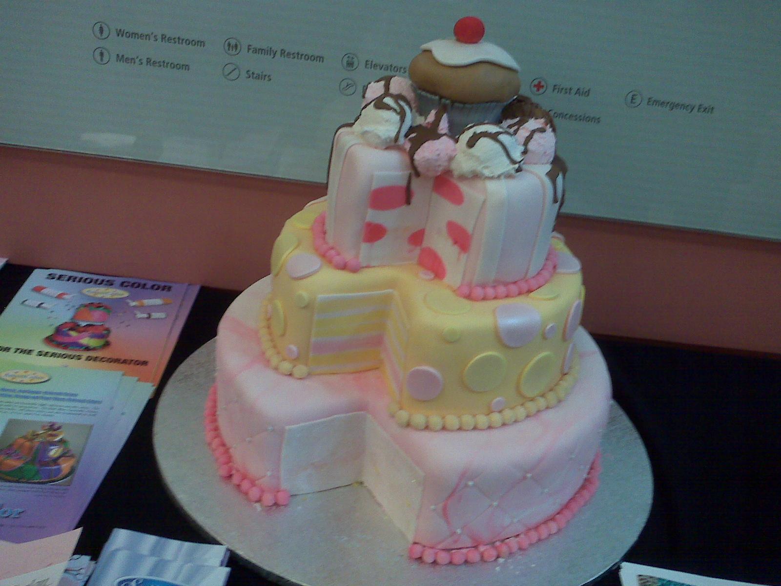12 Ideas For Fondant Cakes Designs Photo Fondant Cake Decorating