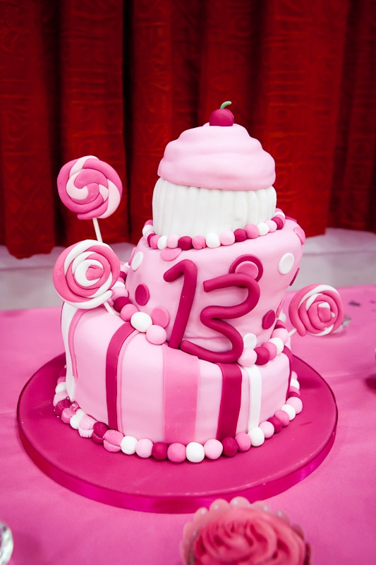 8 13th Year Old Girl Birthday Cakes Photo Girls 13th Birthday Cake