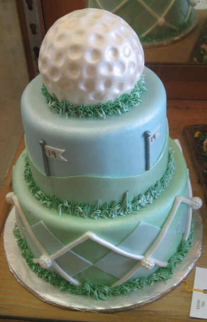 5 Mini Golf Grooms Cakes Photo Golf Birthday Cake Ideas Golf
