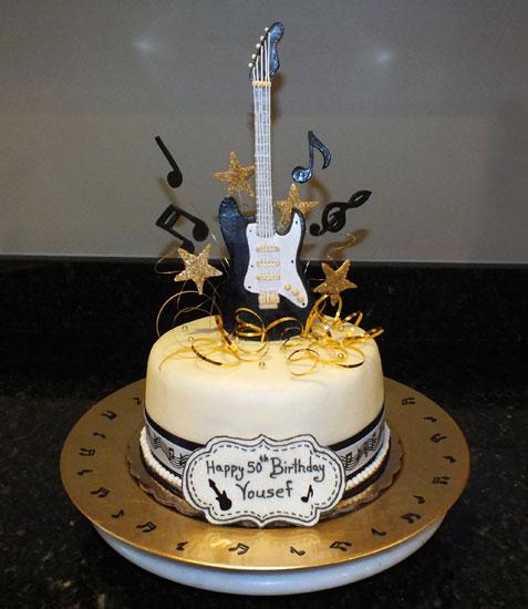 10 Guitar Cakes For Men Photo Guitar Birthday Cake Design Guitar