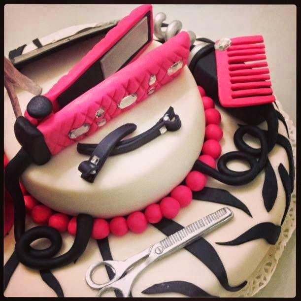 Tremendous 11 Hair Salon Birthday Cupcakes Photo Hair Stylist Happy Funny Birthday Cards Online Overcheapnameinfo