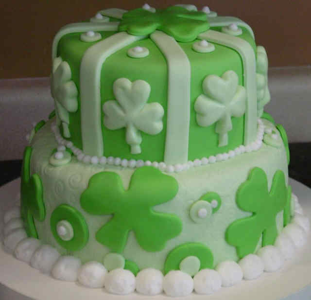 Miraculous 7 St Patricks Day Birthday Cakes Photo Happy St Patricks Day Personalised Birthday Cards Cominlily Jamesorg