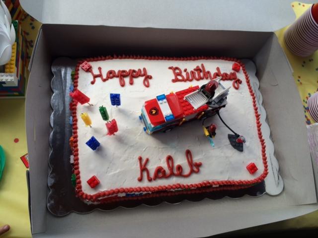 Kroger Birthday Cake Designs Via LEGO Party Decorations